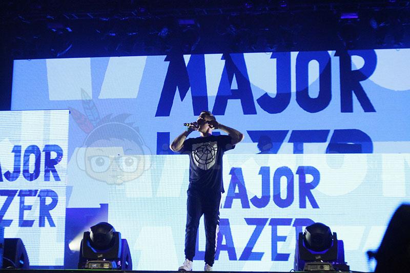 Major Lazer - Lowlands 2015