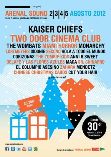Kaiser Chiefs al Arenal Sound 2012
