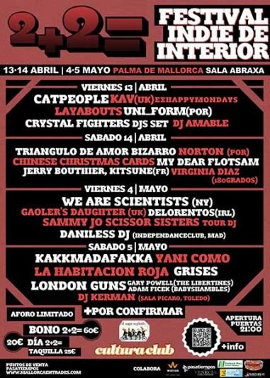 2+2, nuevo festival para la primavera mallorquina