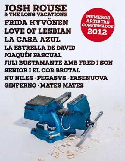 Primeros nombres para el Faraday 2012