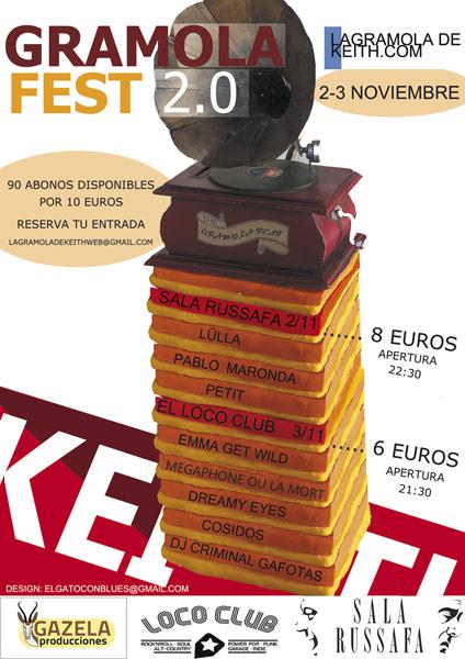 Valencia acogerá a principios de Noviembre el Gramolafest 2.0