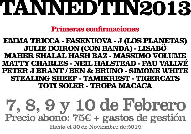 Tanned Tin 2013 J