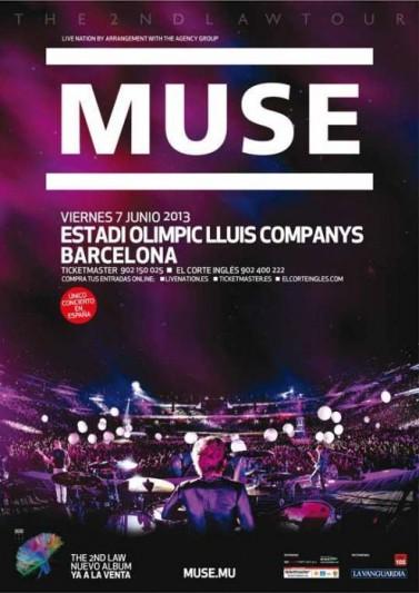 Muse anuncia su único concierto en España en 2013