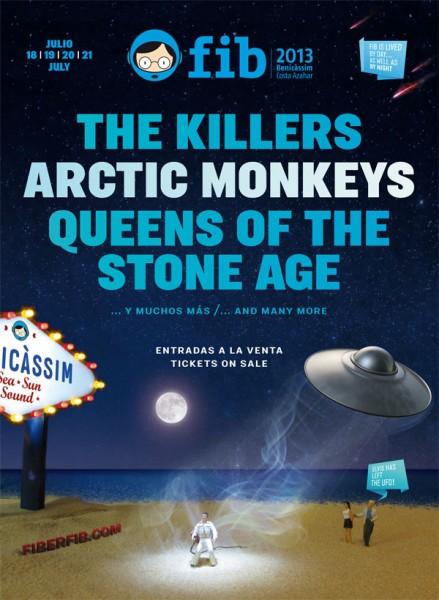 The Killers, Arctic Monkeys y Queens Of The Stone Age, ¿primeros nombres del FIB 2013?
