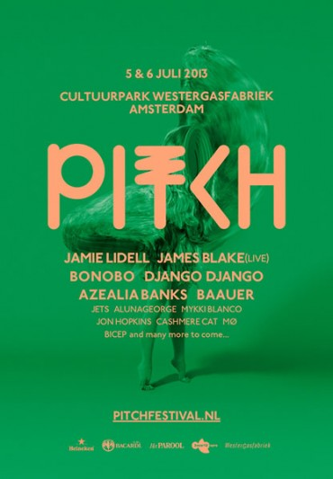 Firsts names for Pitch Festival 2013