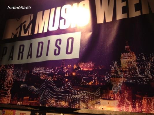 MTV music week Amsterdam 2013