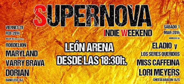 Nace el festival Supernova Indie Weekend