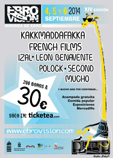 El Ebrovisión 2014 ya tiene fechas y primeros nombres