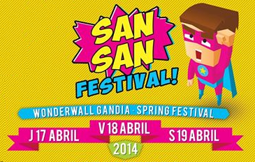 Enjoy live San San Festival 2014 with Indieófilo