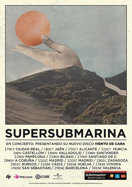 Supersubmarina por partida triple