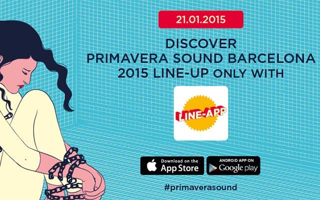 """Primavera Sound 2015 mostrará su cartel el 21 de enero mediante """"Line-App"""""""