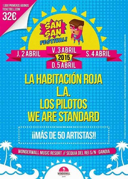 El San San Festival 2015 ya tiene fecha y primeros nombres