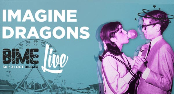 Imagine Dragons, primer gran grupo para el Bime Live 2015