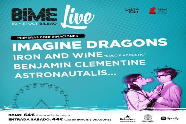 Tres nuevos nombres para el Bime Live 2015