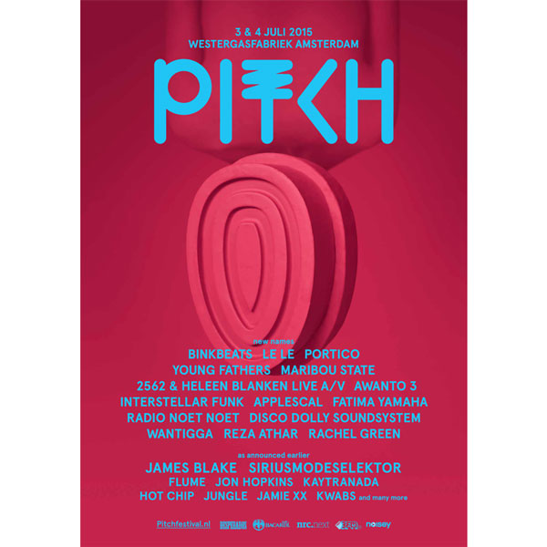 Le Le, Young Fathers or Binkbeats, confirmed for Pitch festival 2015