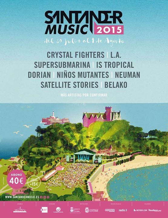 Dos nuevos nombres para el Santander Music 2015