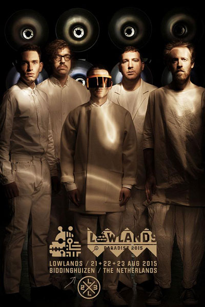 Hot Chip confirmed for Lowlands 2015 while Mark Ronson cancelled his show