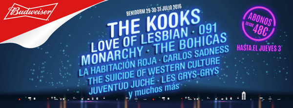 Low 2016 - The Kooks