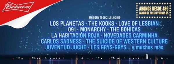 Los Planetas confirmados para el Low Festival 2016
