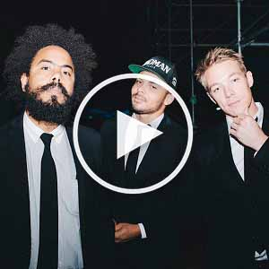 Major Lazer video