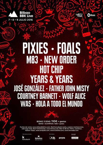 BBK Live 2016 - Foals