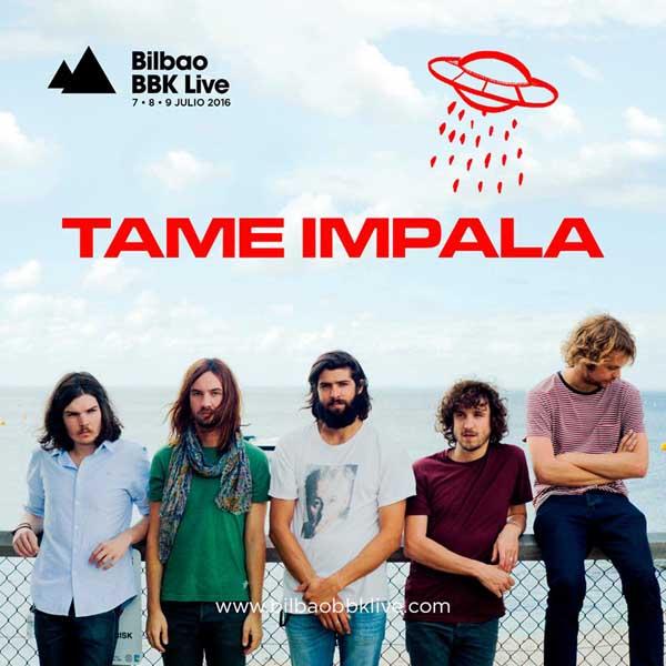 Tame Impala y Jagwar Ma, al BBK Live 2016