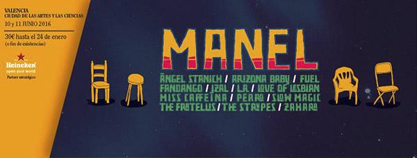 Manel estarán en el Festival de les Arts 2016