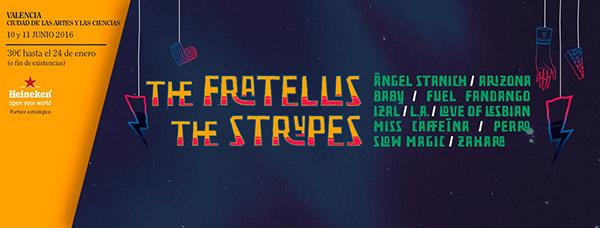 The Fratellis y The Strypes, confirmaciones para el Festival de les Arts 2016