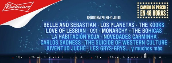 Belle and Sebastian vuelven al Low Festival 2016