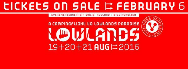 Lowlands 2016 line up: Stage times, schedule and clashes
