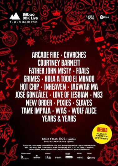 BBK Live 2016 - Chvrches