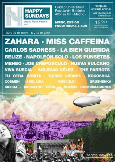 Nace en Madrid el Happy Sundays Festival