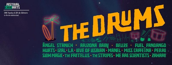 The Drums confirmados para el Festival de les Arts 2016