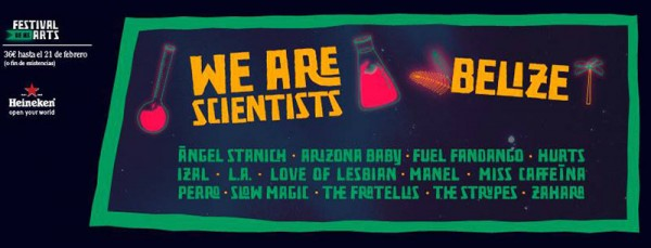 We Are Scientists y Belize, al Festival de les Arts 2016