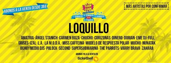 SanSan festival 2016 - Loquillo