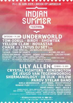 Indian Summer Festival 2014 cierra su cartel con Underworld y 24 nombres mas