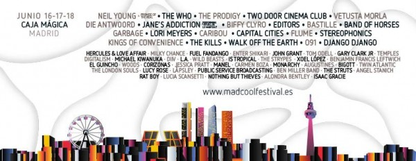 Mad Cool Festival 2016 cierra su cartel con The Who o Editors