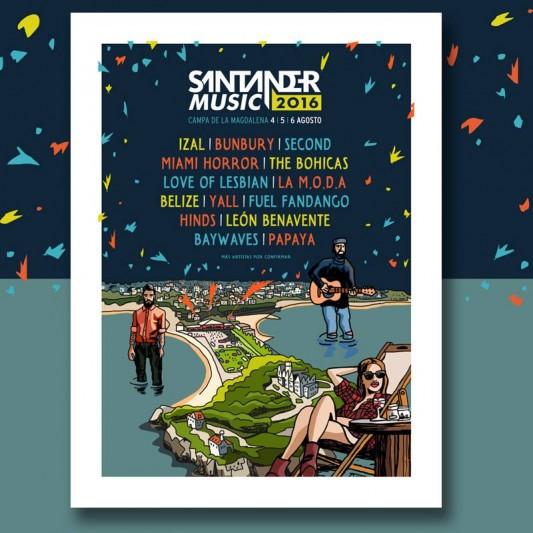 Santander music Festival 2016 - Fuel Fandango