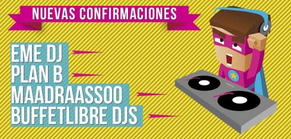 Nuevas confirmaciones para el SanSan Festival 2014
