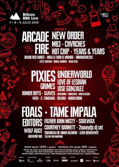 New names confirmed for BBK live 2016