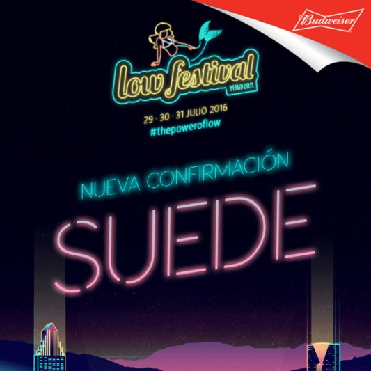 Suede confirmed for Low Festival 2016