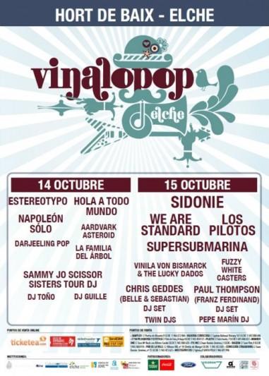 El Vinalopop 2011 cierra definitivamente su cartel