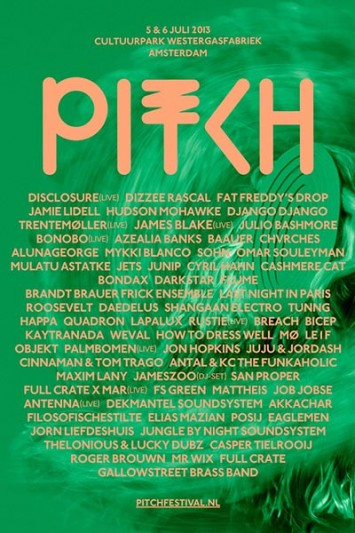 Last names for Pitch festival 2013 with Junip or How to Dress Well