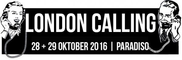 First names for London Calling October 2016