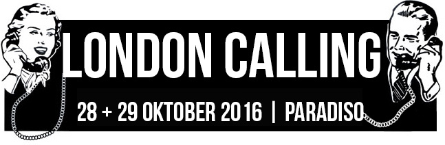 Amazing batch of names for London Calling festival 2016