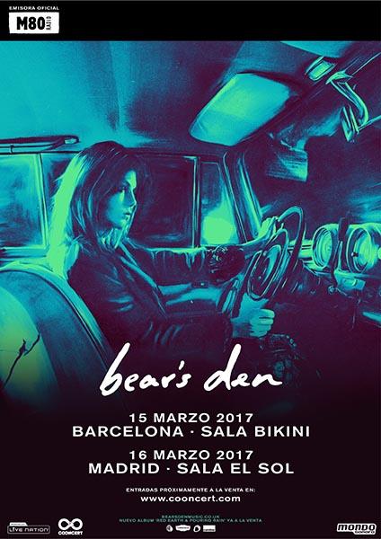 Bear's Den anuncian conciertos en Barcelona y Madrid para marzo de 2017