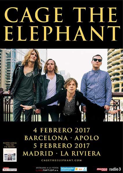 Cage The Elephant espana 2017