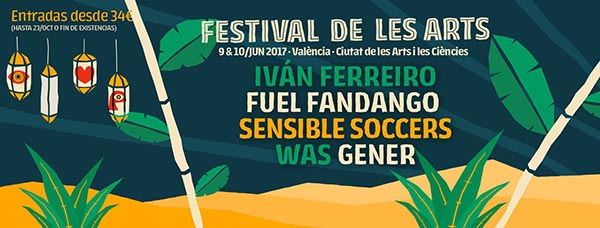 Festival de les Arts 2017 - Ivan Ferreiro