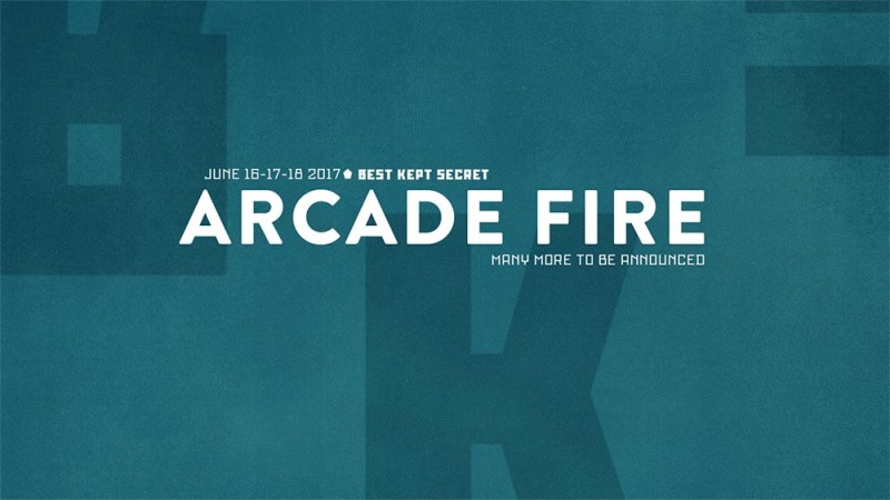 Arcade Fire confirmed for Best Kept Secret Festival 2017