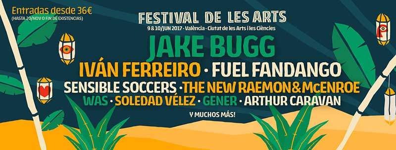 Jake Bugg, al Festival de les Arts 2017